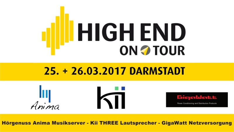 High End on Tour in Darmstadt März 2017